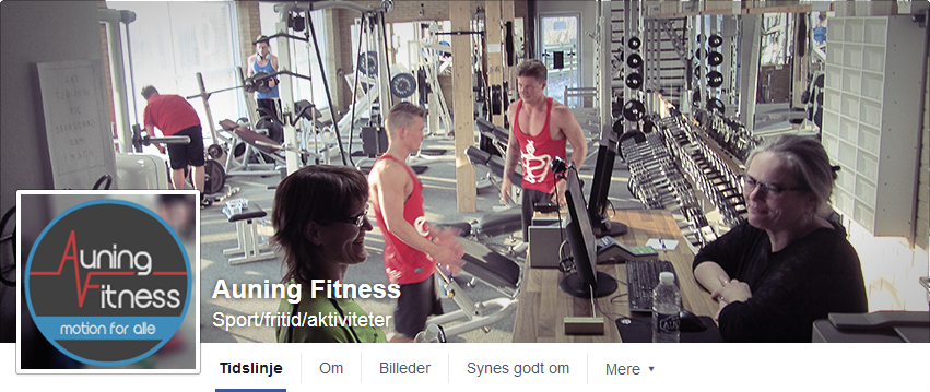 Auning Fitness Facebook Cover